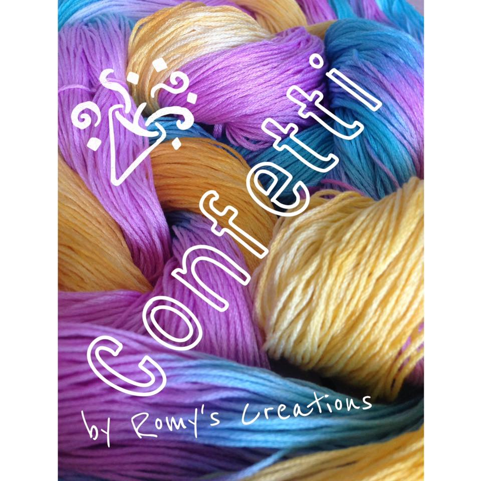 click here to view larger image of Romys Creations Hand-Dyed Threads (fiber)