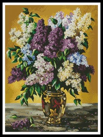 click here to view larger image of Lilac Bouquet (chart)