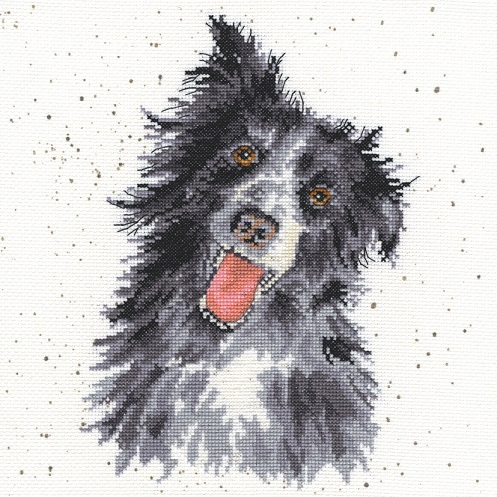 click here to view larger image of Collie (counted cross stitch kit)