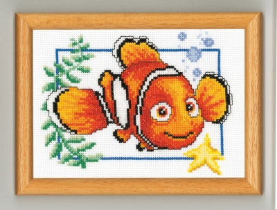 click here to view larger image of Nemo (counted cross stitch kit)