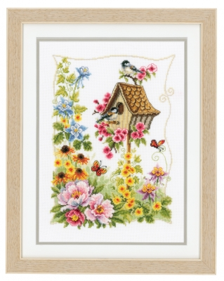 click here to view larger image of Nesting Box (counted cross stitch kit)