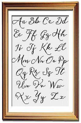 click here to view larger image of Vintage Sass Alphabet 2 (chart)