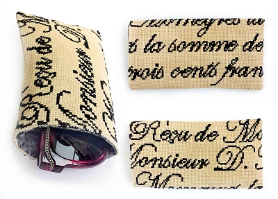 click here to view larger image of French Glasses Case (chart)