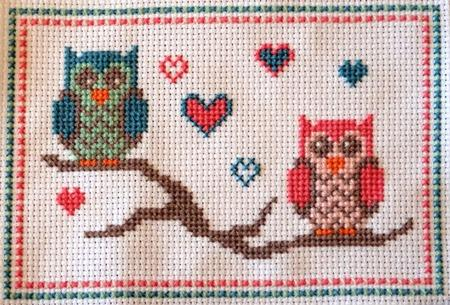click here to view larger image of Lovebird Owls (chart)