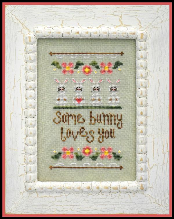 click here to view larger image of Some Bunny Loves You (chart)