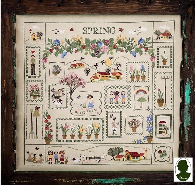 click here to view larger image of Spring Sampler (chart)
