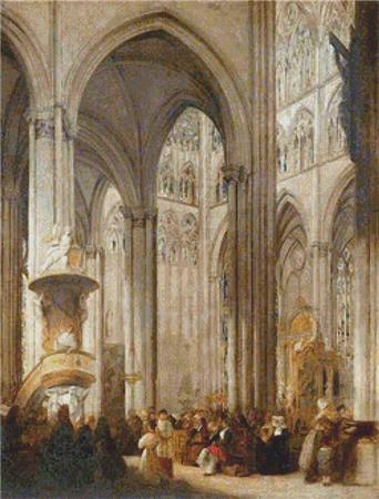 click here to view larger image of Amiens Cathedral Interior (chart)