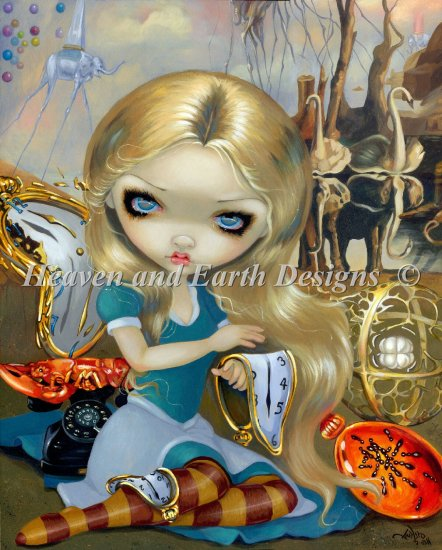 click here to view larger image of Mini Alice In A Dali Dream (chart)