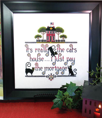 click here to view larger image of Its The Cats House (chart)