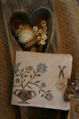 Dogwood Farms Needle Book - click here for more details about chart