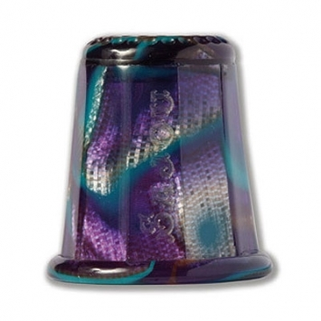 click here to view larger image of Blue Onyx Thimble (accessory)