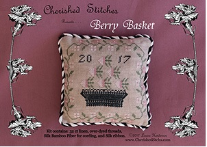 click here to view larger image of Berry Basket - Limited Edition Kit (counted cross stitch kit)