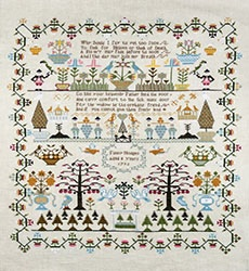 click here to view larger image of Fanny Hodges Sampler (chart)