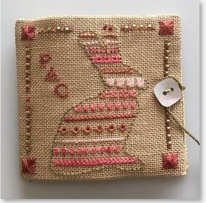 click here to view larger image of Bunny Bands Needle Book (bead kit)
