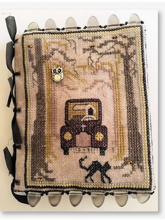 click here to view larger image of Old Dark Road Needle Book (bead kit)