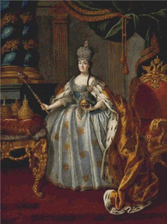 click here to view larger image of Portrait Of Catherine II (chart)