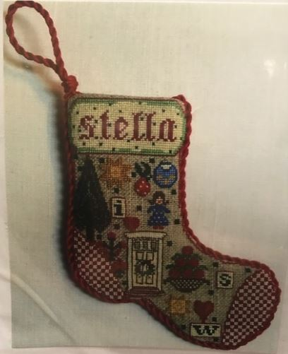 click here to view larger image of 2017 Annual Ornament Stocking (counted cross stitch kit)