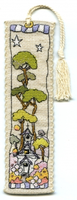 click here to view larger image of Small White Church Bookmark (chart)