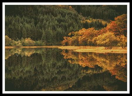 click here to view larger image of Loch Chon In Autumn (chart)