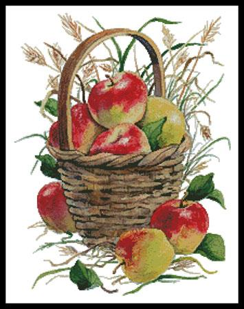 click here to view larger image of Basket Of Apples  (Maureen McCarthy) (chart)