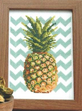 click here to view larger image of Chevron Pineapple (chart)