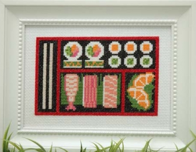 click here to view larger image of Sushi Bento Box (chart)