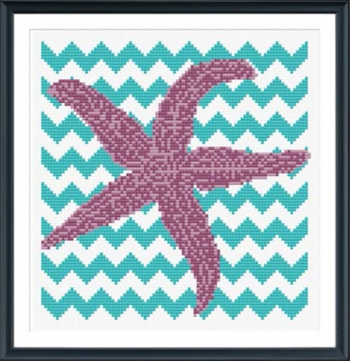 click here to view larger image of Chevron Starfish (chart)