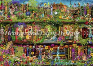 click here to view larger image of Supersized The Secret Garden Max Color (chart)