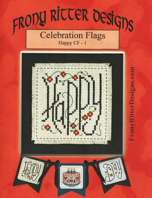 click here to view larger image of Celebration Flags - Happy (chart)