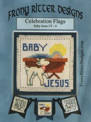 click here to view larger image of Celebration Flags - Baby Jesus (chart)