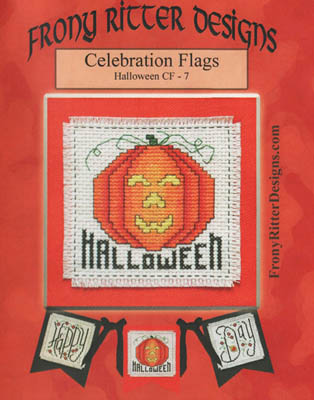 click here to view larger image of Celebration Flags - Halloween (chart)