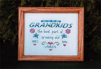 click here to view larger image of Grandkids (chart)