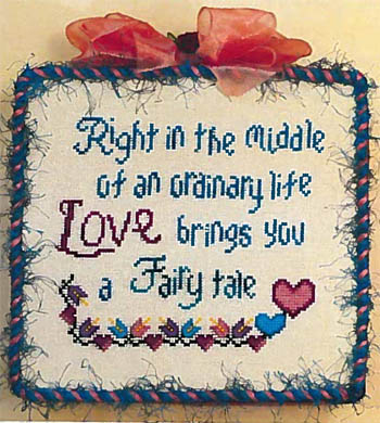 click here to view larger image of Fairy Tale Love (chart)