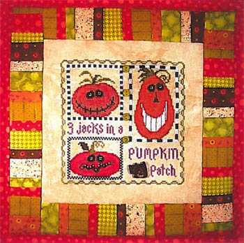 click here to view larger image of 3 Jacks In A Pumpkin Patch (chart)