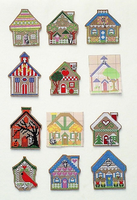 click here to view larger image of Gingerbread House Of The Month - Charm Pack (charm)