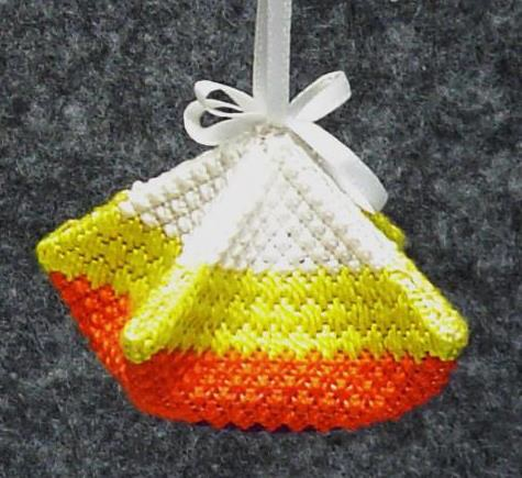 click here to view larger image of Candy Corn Puff (counted canvas chart)