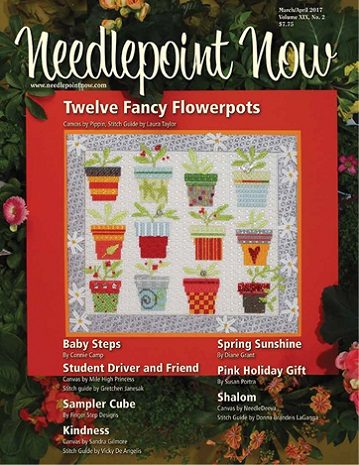 click here to view larger image of Needlepoint Now March/April 2017 (magazines)