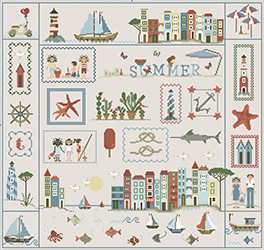 click here to view larger image of Summer Sampler (chart)