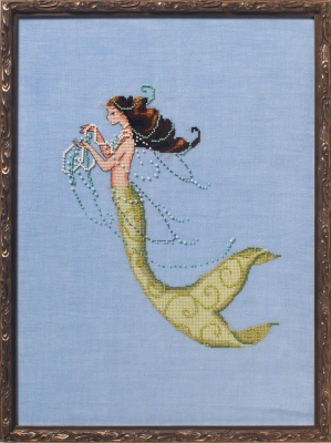 click here to view larger image of Tesoro Mia - La Petite Mermaids Collection (chart)