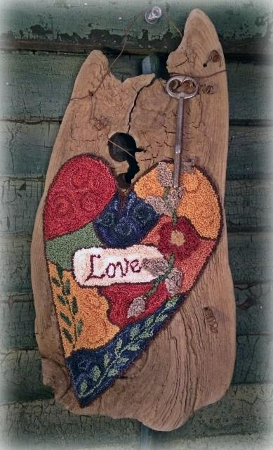 click here to view larger image of Crazy Love - Punchneedle (Punchneedle)