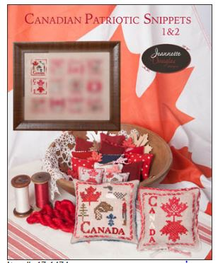 click here to view larger image of Canadian Patriotic Snippets 1-2 (chart)