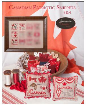 click here to view larger image of Canadian Patriotic Snippets 3-4 (chart)