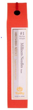 click here to view larger image of Tulip Milliners/Straw Big Eye Needles (needles)