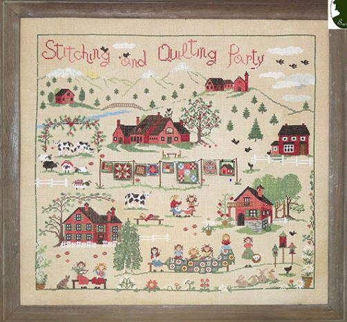 click here to view larger image of Stitching and Quilting Party (chart)