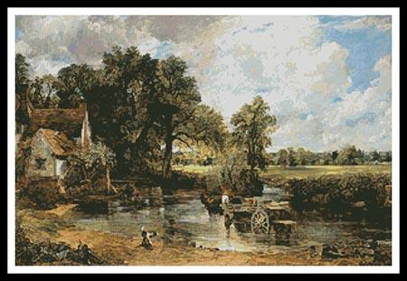 click here to view larger image of Hay Wain, The  (John Constable) (chart)