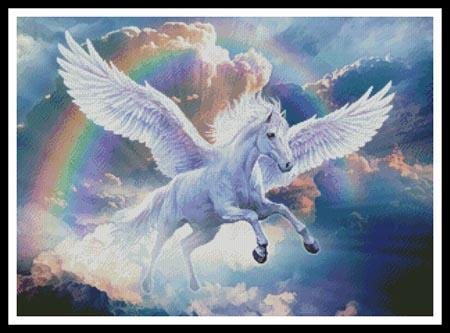 click here to view larger image of Rainbow Pegasus (chart)