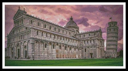 click here to view larger image of Pisa Cathedral At Sunrise (None Selected)