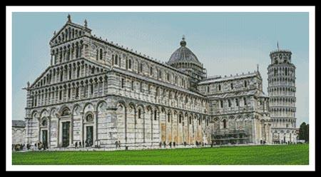 click here to view larger image of Pisa Cathedral In The Day (chart)