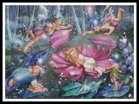 click here to view larger image of Evening Fairies (Large) (chart)
