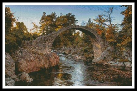 click here to view larger image of Carrbridge Packhorse Bridge (chart)